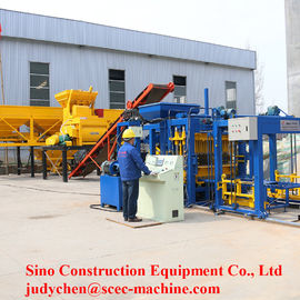 Semi Automatic Cement Block Machine