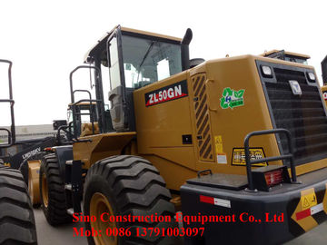 ZL50GN Road Construction Machinery 5t Wheel Loader