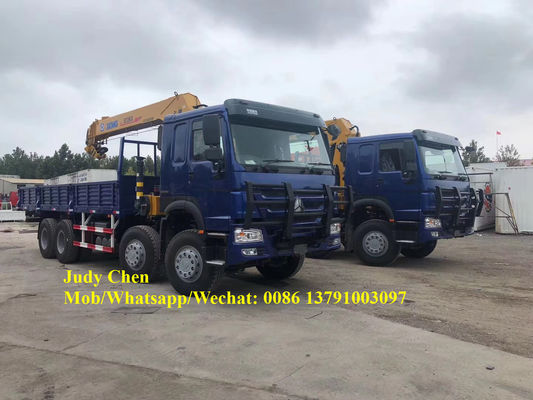 6X4 12 Tons Telescopic Boom Truck Mounted Crane